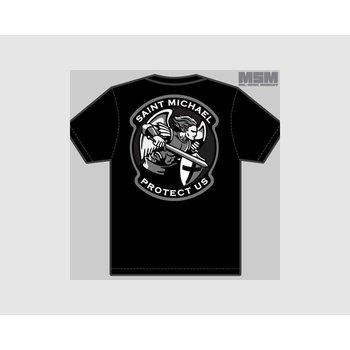 MilSpec Monkey St. M. Modernes T-Shirt - Schwarz