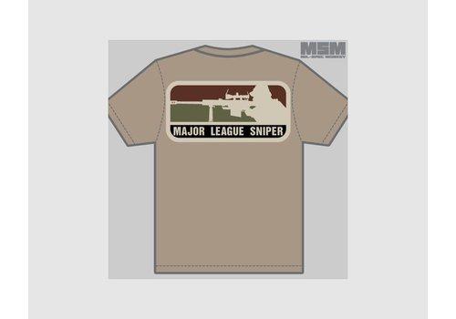 MilSpec Monkey Major League Sniper T-Shirt - Black
