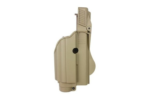 IMI Defense Z1600 Tactical Light Paddle Holster Glock 17 - Coyote Tan