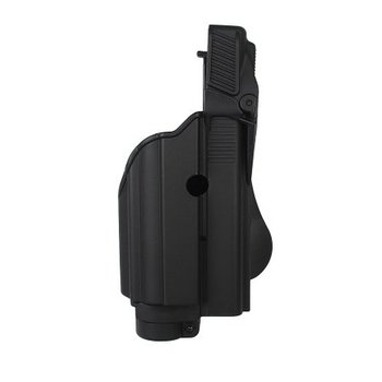 IMI Defense Z1600 Tactical Light Paddle Holster Glock 17 - Black