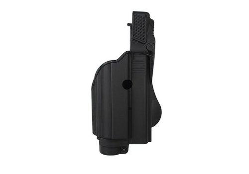 IMI Defense Z1600 Tactical Licht Paddle Holster Glock 17 - Schwarz