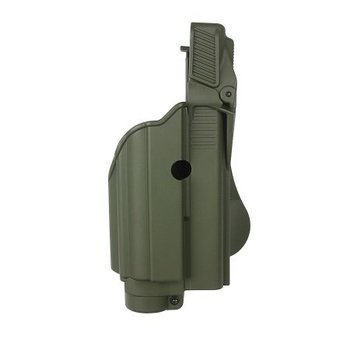 IMI Defense Z1600 Tactical Light Paddle Holster Glock 17 - Olive Drab