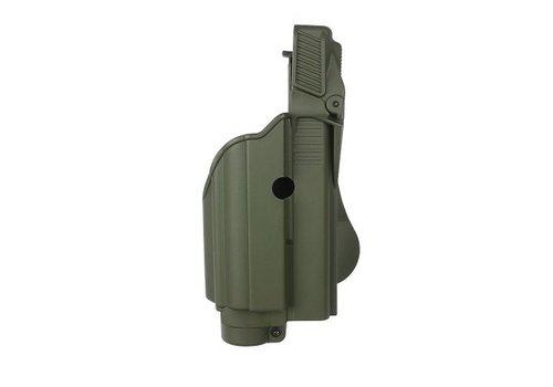 IMI Defense Z1600 Tactical Light Paddle Holster Glock 17 - Olive Drab
