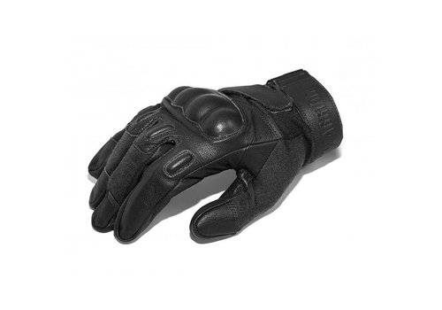 Warrior Firestorm Hart Knuckle Glove Kevlar - Schwarz