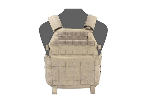 Warrior DCS Releasable Plate Carrier Base - Coyote Tan