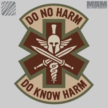 MilSpec Monkey Do know Harm - Spartan - Desert