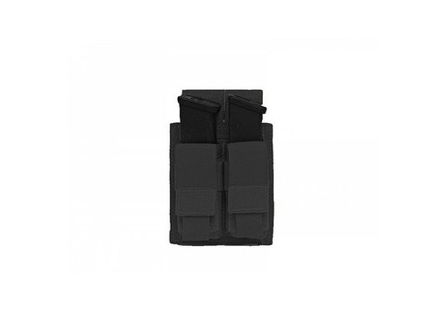 Warrior Elite OPS Direct Action Double 9mm Pistol Pouch - Black