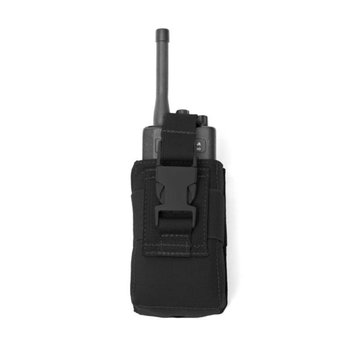 Warrior Elite OPS Small Radio Pouch - Black