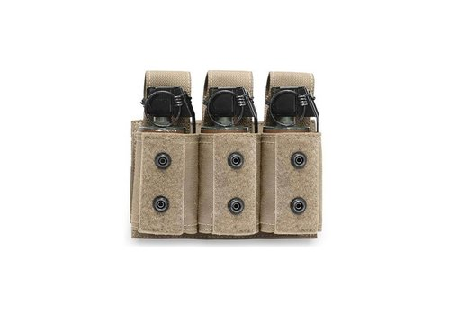 Warrior Triple 40mm Grenade/ Flashbang Pouch - Coyote Tan