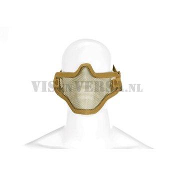 Invader Gear Steel Half Face Mask - Tan