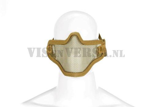 Invader Gear Stahl halbe Gesichtsmaske - Tan
