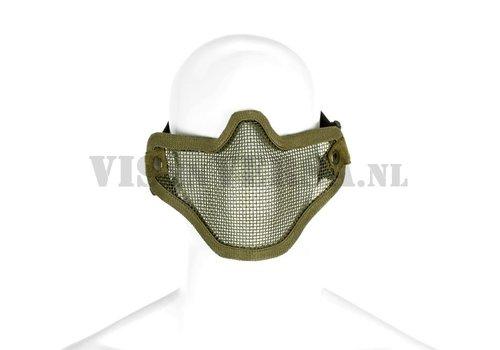 Invader Gear Steel Half Face Mask - Olive Drab