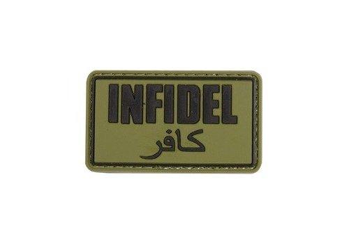 Infidel Badge PVC - braunoliv