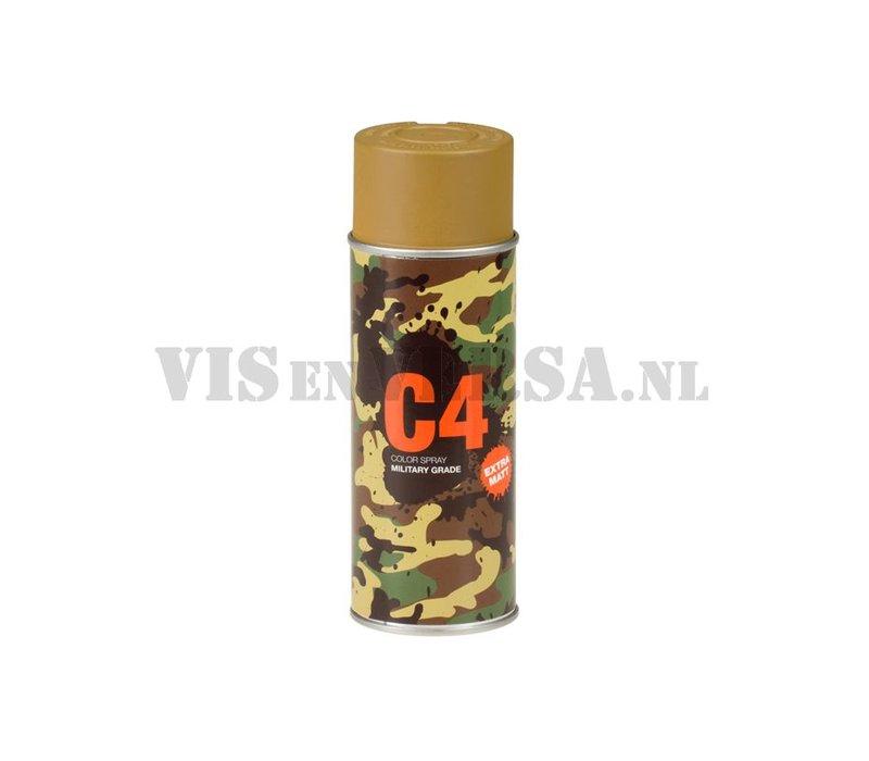 C4 Militärgrad Color Spray RAL8000 (grün-braun)