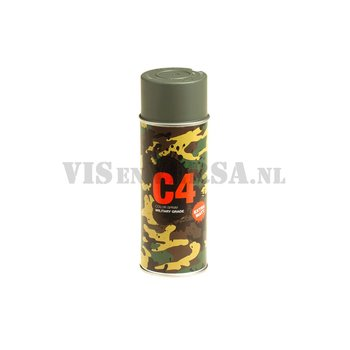 C4 Military Grade Color Spray RAL7009 ( Groen-grijs)