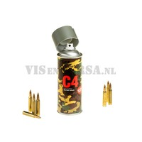 C4 Militärgrad Color Spray RAL7009 (grün-grau)
