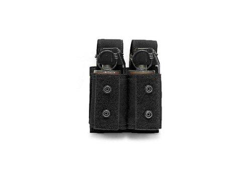 Warrior Doppel 40mm Granate / Flash-Bang Tasche - Schwarz