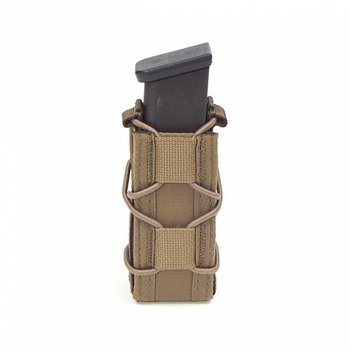 Warrior Single Quick Mag for 9mm Pistol - Coyote Tan