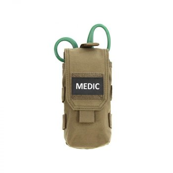 Warrior Individual First Aid Pouch - Coyote Tan
