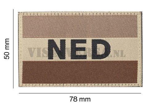 Claw Gear Niederländische Flagge 50 x 76 mm - Desert