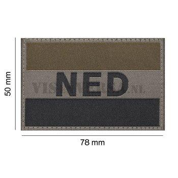 Claw Gear Niederländische Flagge 50 x 76mm - RAL7013