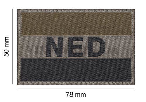 Claw Gear Nederlandse Vlag 50 X 76mm - RAL7013
