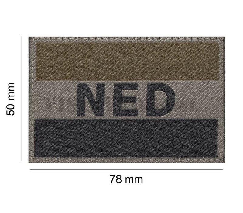 Niederländische Flagge 50 x 76mm - RAL7013
