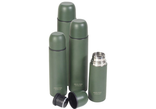 Jack Pyke Flask 1ltr - Green Thermos