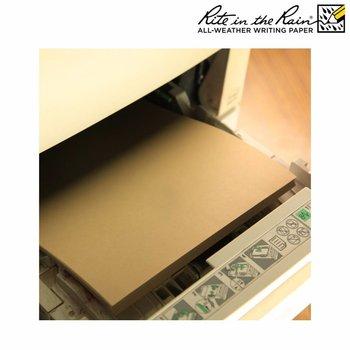 Rite in the Rain Wasserdichtes Papier A4 500 Blatt - Brown