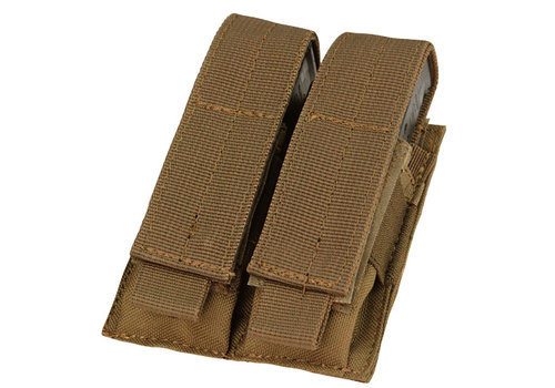 Condor MA23 Double Pistol Mag Pouch - Coyote Brown
