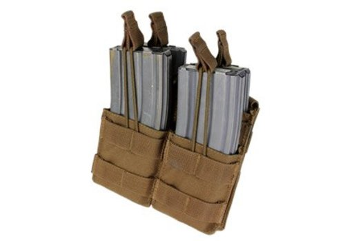 Condor MA43 Doppel Stacker M4 Mag Pouch - Coyote Brown