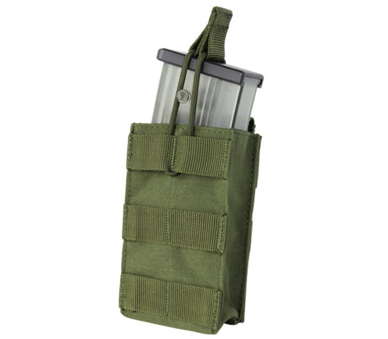 191129 Single Open Top G36 Mag Pouch - Olive Drab