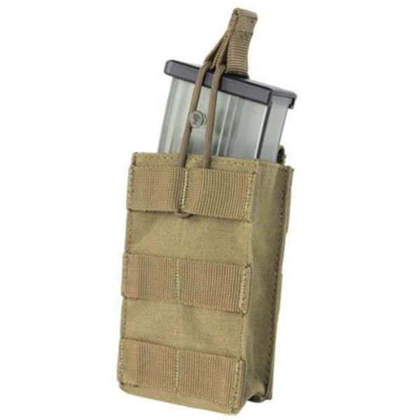 Condor 191129 Single Open Top G36 Mag Pouch - Coyote Tan