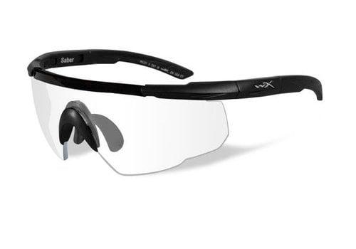 Wiley X Saber Advanced - Matte Black Frame/ Clear Lenses