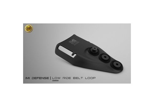 IMI Defense Low Ride Belt loop - Schwarz