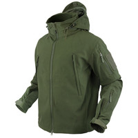 602 Summit Softshell Jacke - braunoliv