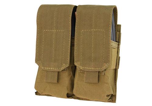 Condor MA4 Doppel M4 Mag Pouch - Coyote Brown