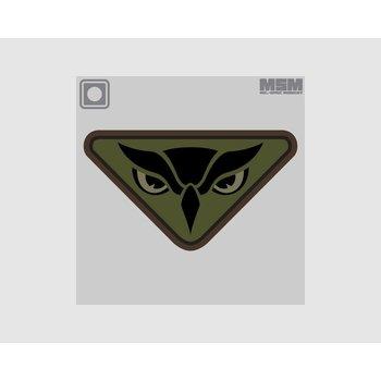 MilSpec Monkey Owl Head PVC Patch - Forest