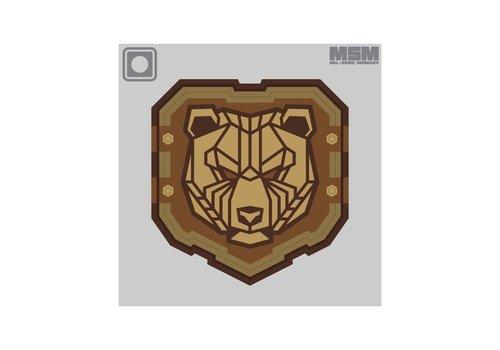 MilSpec Monkey Industrial Bear PVC - Desert