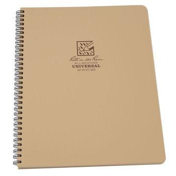 Rite in the Rain Maxi Side Spiral Notebook 22 X 28cm - Tan