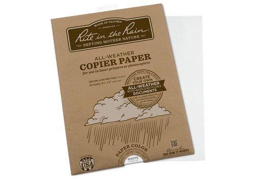 Rite in the Rain Alle Wetter Kopierpapier A4 50 Blatt - Grau