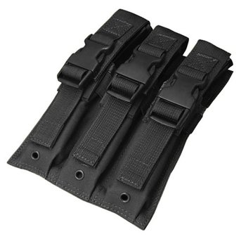 Condor MA37 Triple MP5 Mag Pouch - Black