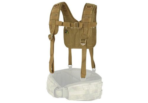 Condor 215 H-Harness - Coyote Brown