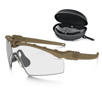 Oakley SI Ballistic M Frame 3.0 Bone met Array clear / grey lenzen