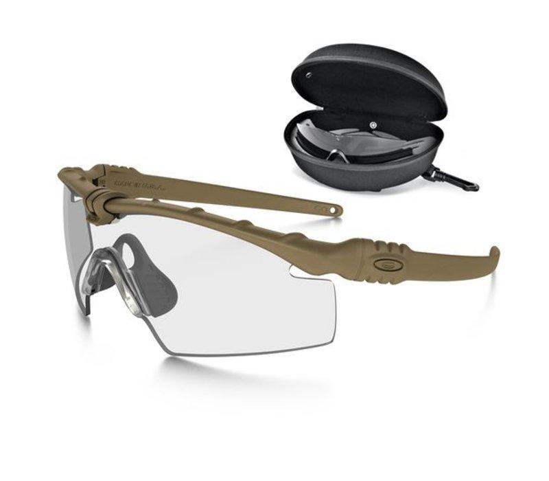 Oakley SI Ballistic M Frame 3.0 Bone mit Array Clear / Grey Gläser ...