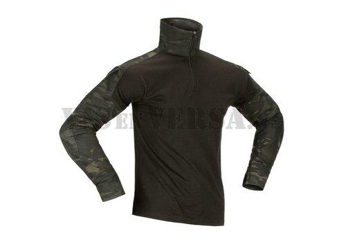 Invader Gear Combat Shirt - ATP black/ Multicam Black