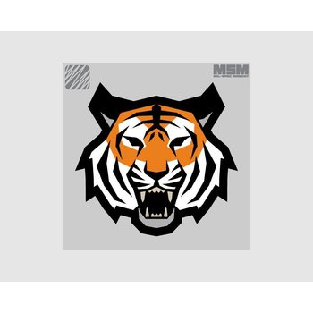 MilSpec Monkey Tiger Head Patch - Full Color