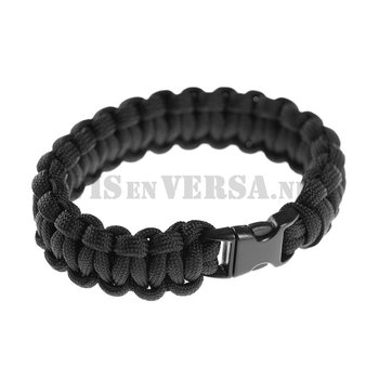 Invader Gear Paracord Armband - Schwarz