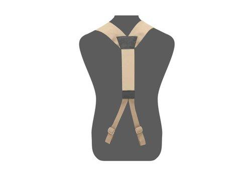 Warrior Slim Line Harness - Coyote Tan