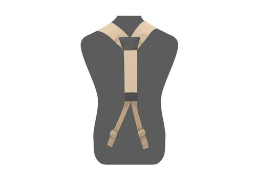 Warrior Slimline Harness - Coyote Tan